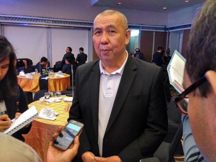 Danny Kosasih, ketua umum PP Perbasi
