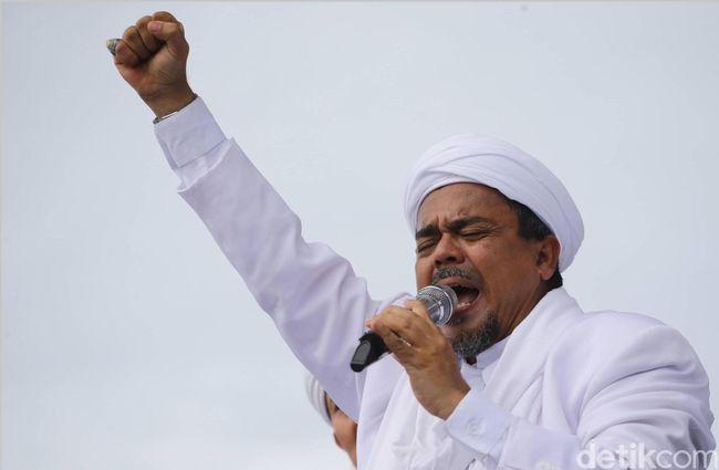 Soal Seruan Boikot Twitter, Habib Rizieq: #RakyatBersamaFPI