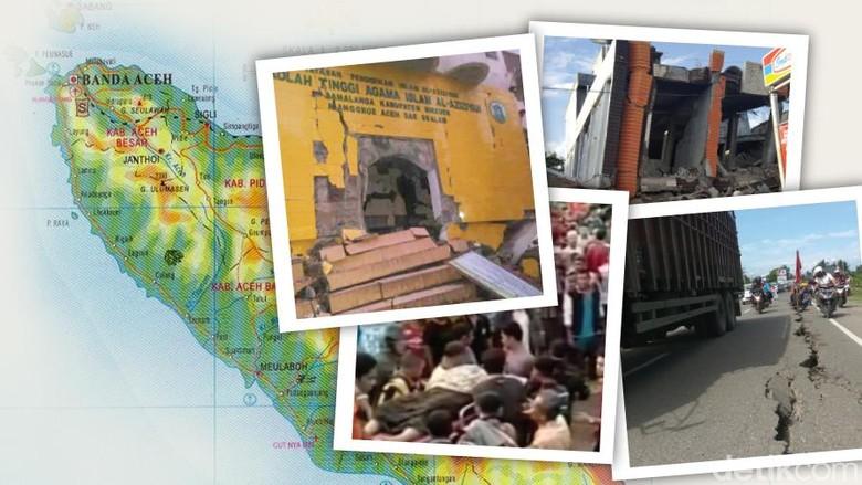 BNPB: Korban Tewas Gempa Aceh Jadi 99 Orang, 1 Orang Hilang