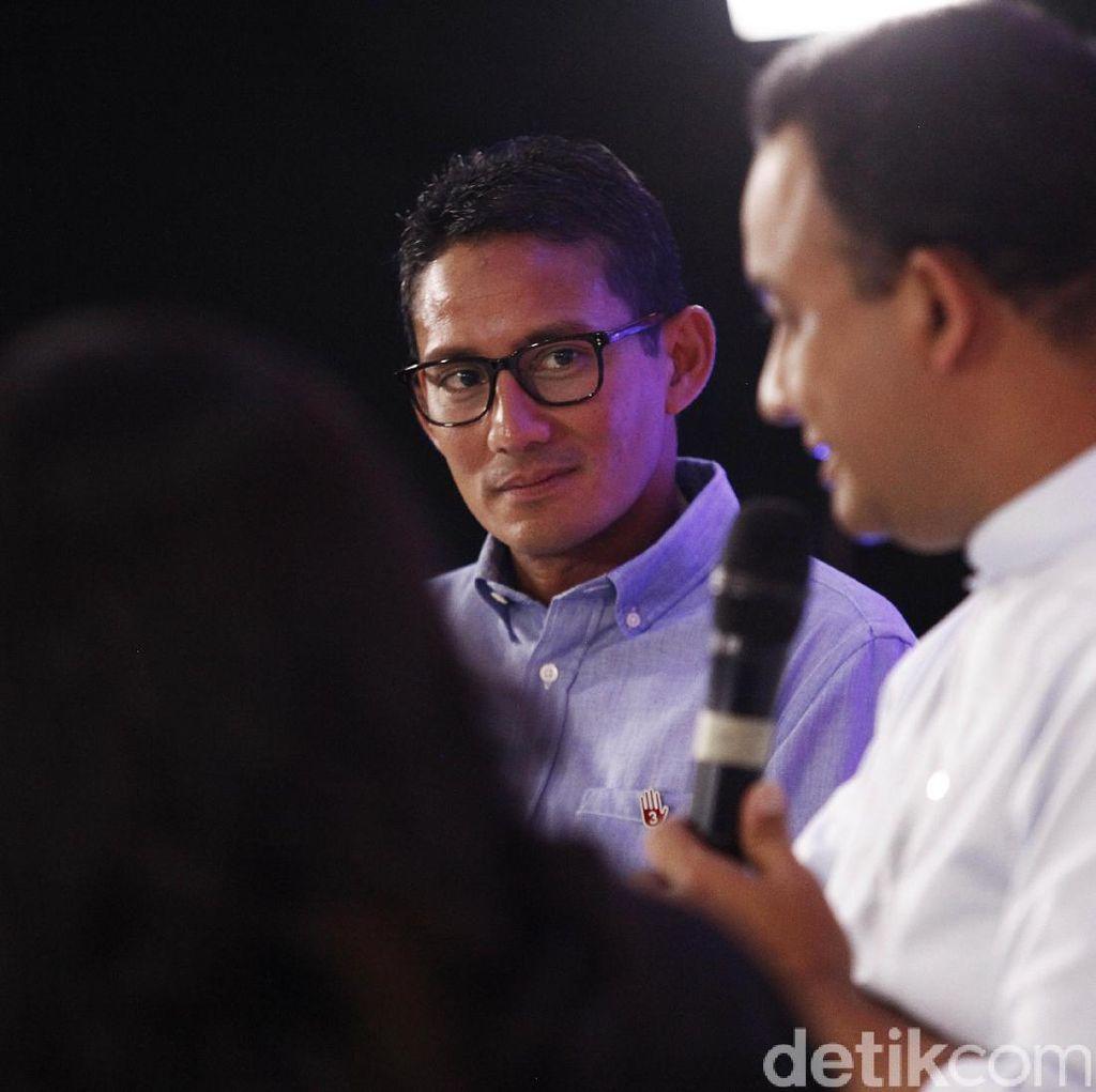 Saat Anies Hingga Sandi Respons Survei Soal Toleransi di DKI