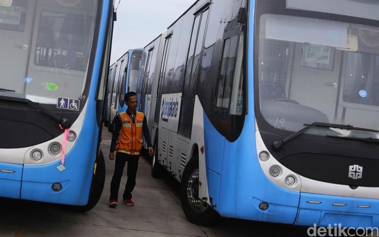 Bus Zhongtong. Foto: Hasan Al Habshy