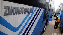 Bus TransJ Zhongtong Mengaspal Lagi, Dulu Disorot Gara-gara Korupsi