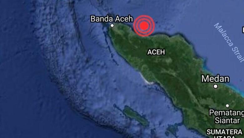 Ruko 3 Lantai Ambruk di Lueng Putu Akibat Gempa Aceh, Suami Istri Tertimbun