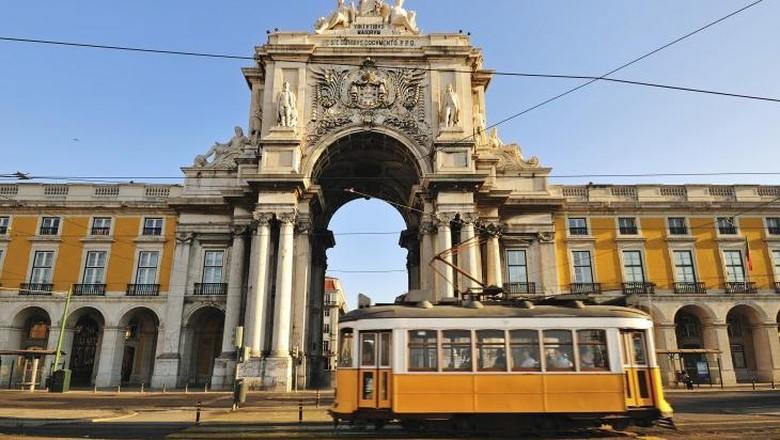 Ilustrasi Lisbon (Thinkstock)