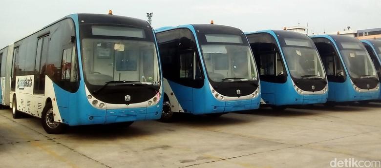 Bus Zhongtong. Foto: Galang Aji Putro