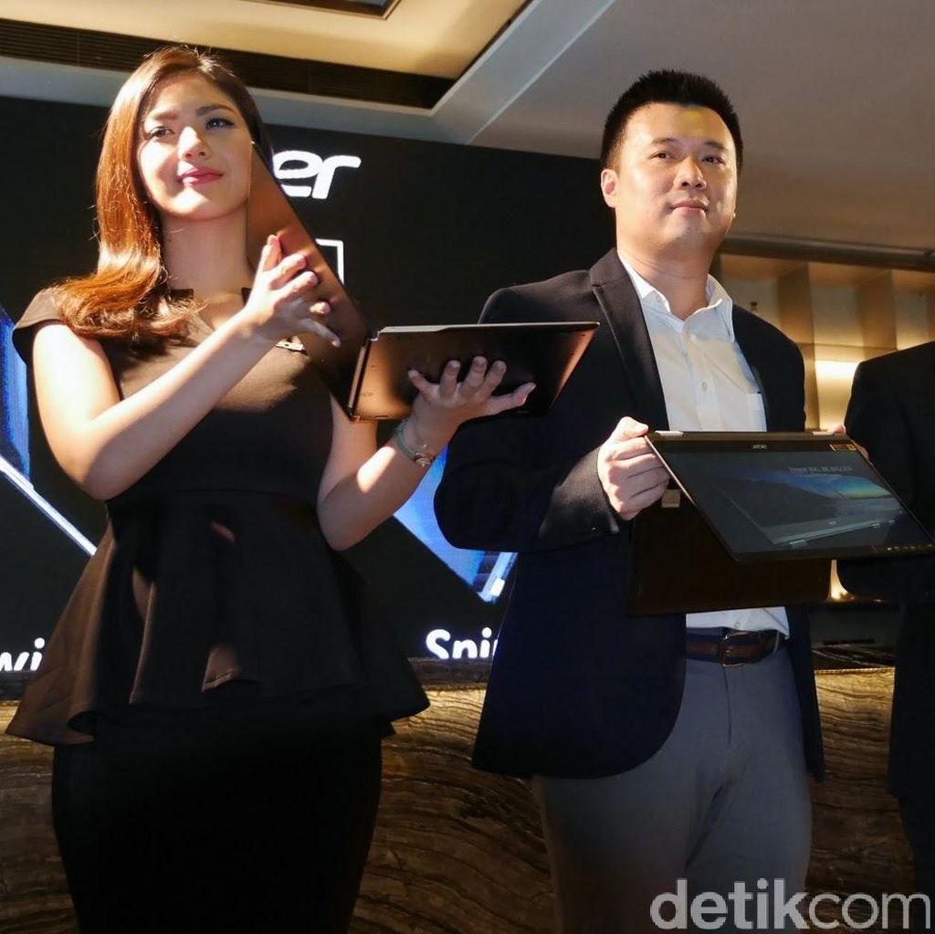 Meski Tipis, Acer Pamer Laptop Ultrathin-nya Laris Manis