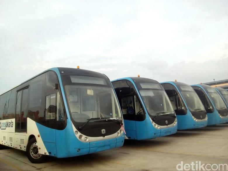 Bus Zhongtong. Foto: Galang/detikcom