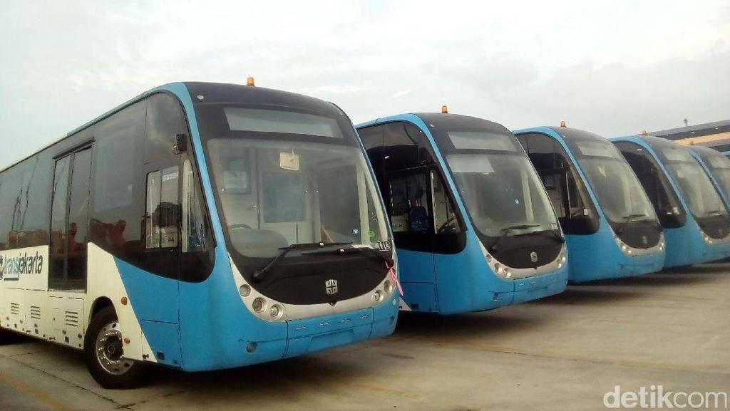 Bus Zhongtong TransJakarta Bukan Rekondisi dari Bus Lama