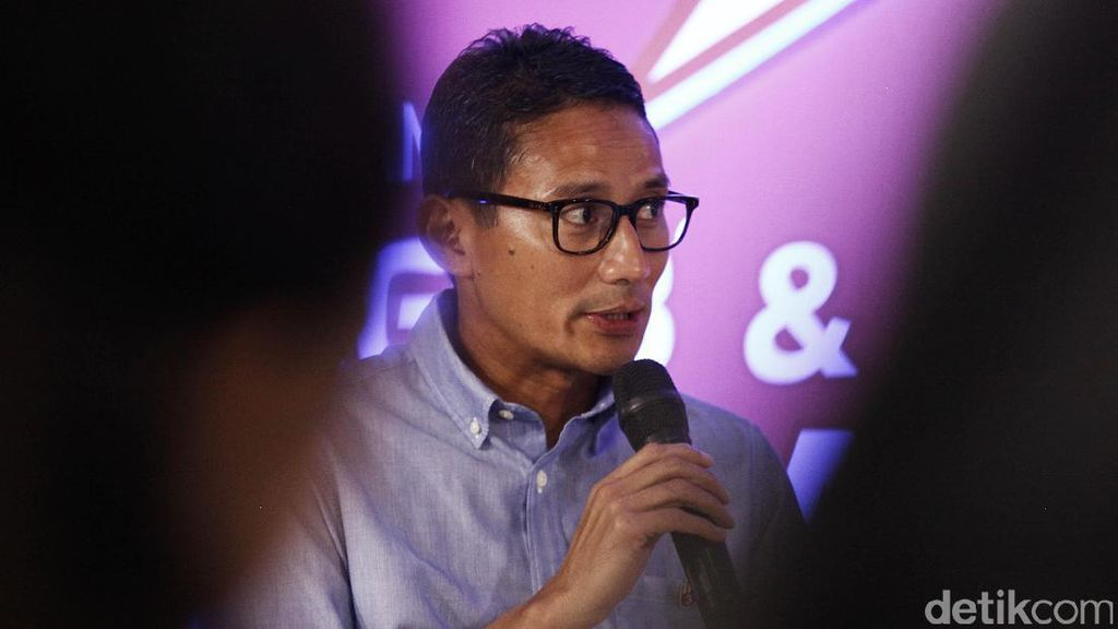 Ke Singapura, Sandiaga Makan Malam Bareng Wakil PM Heng Swee Keat
