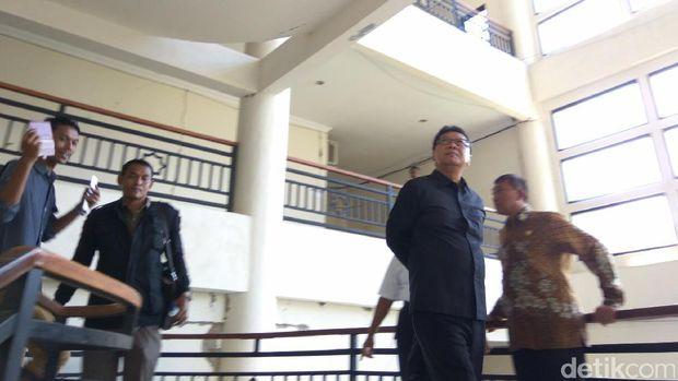 Mendagri Tjahjo Kumolo di kantor Bupati Pidie Jaya, Aceh, Kamis (8/12/2016)