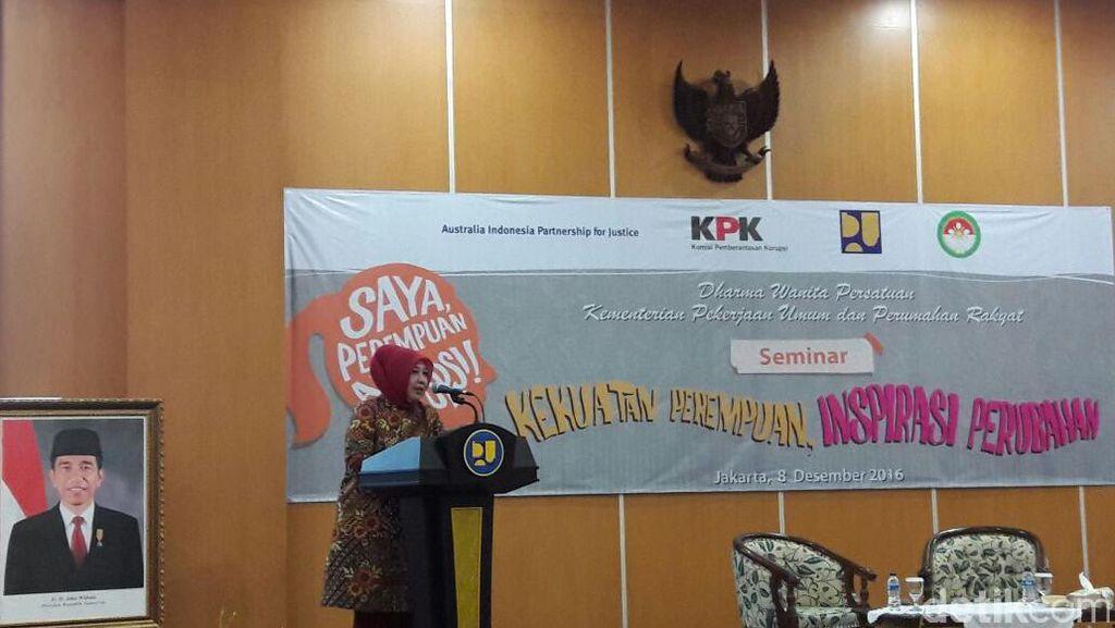 Cegah Praktik Pungli, Kementerian PUPR Libatkan Istri-istri Pegawai