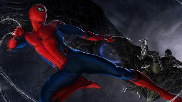 Pertarungan Spidey dan Vulture di Trailer Spider-Man: Homecoming