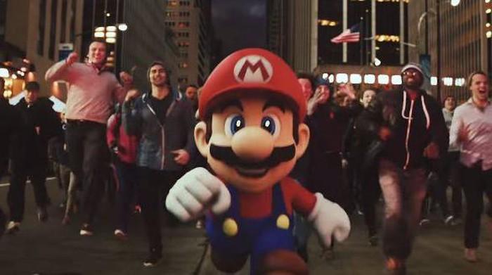 Karakter Mario. Foto: istimewa