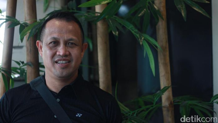 Rexy Mainaky, head coach Thailand (Femi Diah/detikSport)