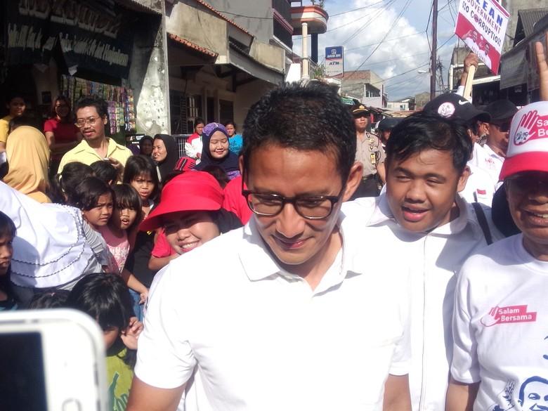 Siap Ditagih Janji Jika Terpilih, Sandiaga: Tunjukan Saja Rekaman Kampanye