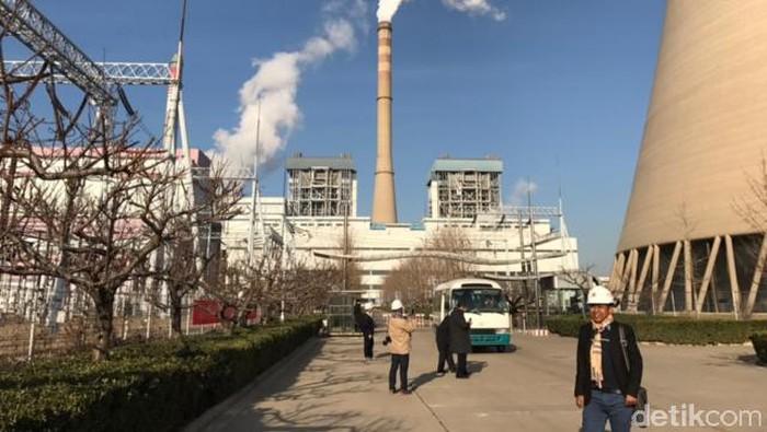 Kunjungan PLN ke PLTU Pan Shan di China.