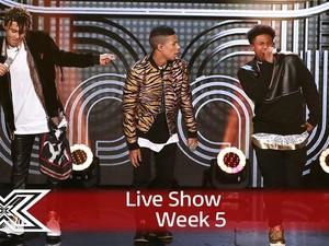 5 After Midnight Tersisih di 3 Besar Final The X Factor UK S13