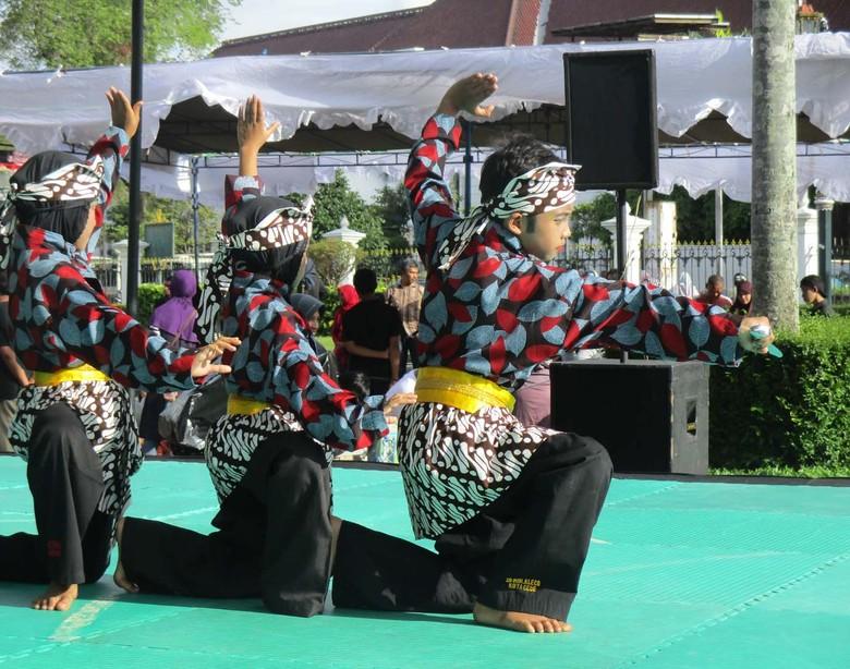 Ratusan Pesilat Muda Ikuti Festival Koreografi Pencak di Yogyakarta