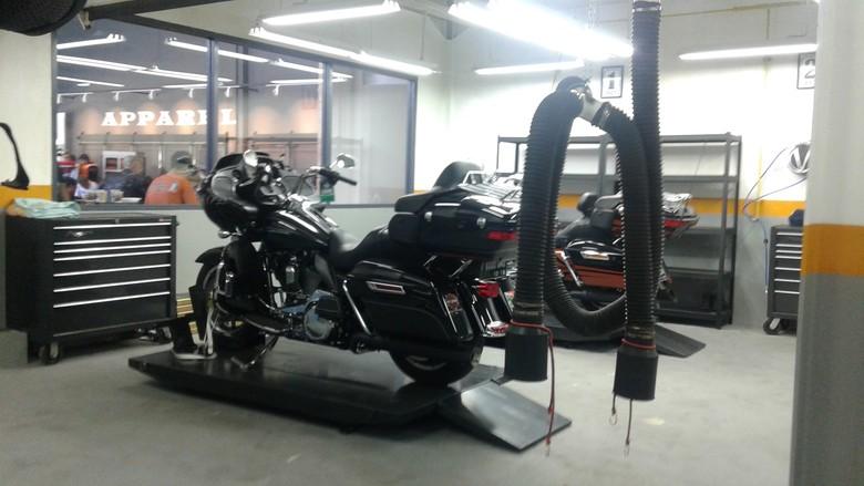 Anak Elang Harley Davidson of Jakarta. Foto: Khairul Imam Ghozali