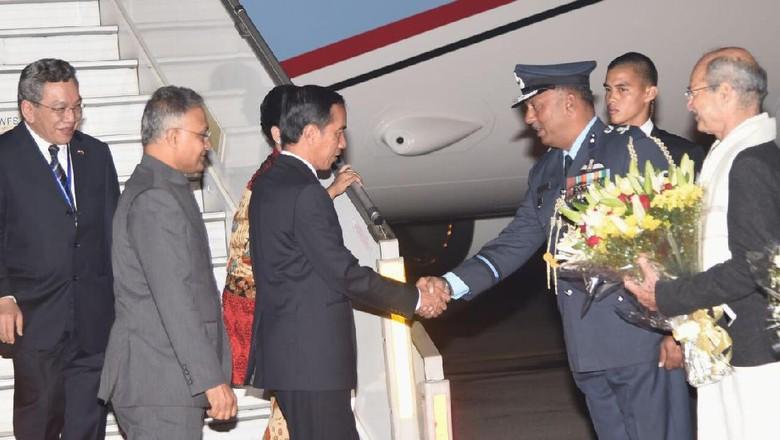 Jokowi Berada di New Delhi, akan Bertemu PM dan Presiden India