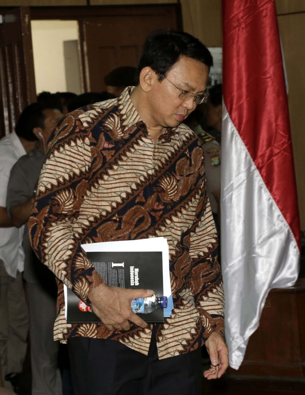 Jakarta Governor Basuki Tjahaja Purnama, popularly known as