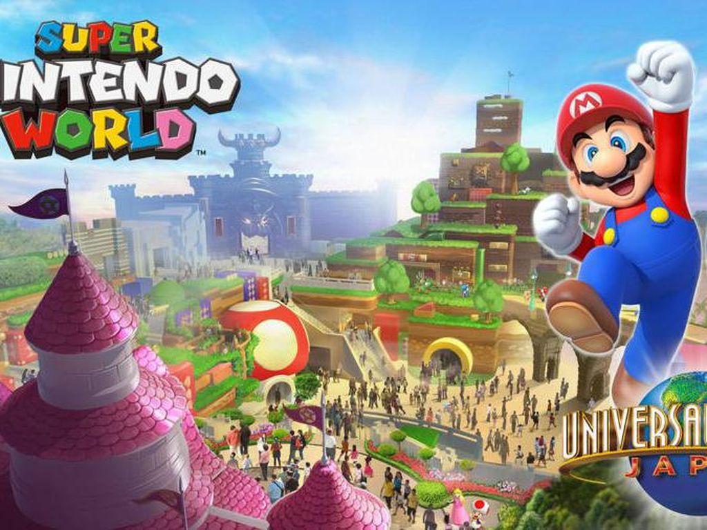 Kasus Corona Meningkat, Pembukaan Super Nintendo World Ditunda
