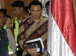Ahok Tak Hadir di Sidang Pemeriksaan Berkas PK
