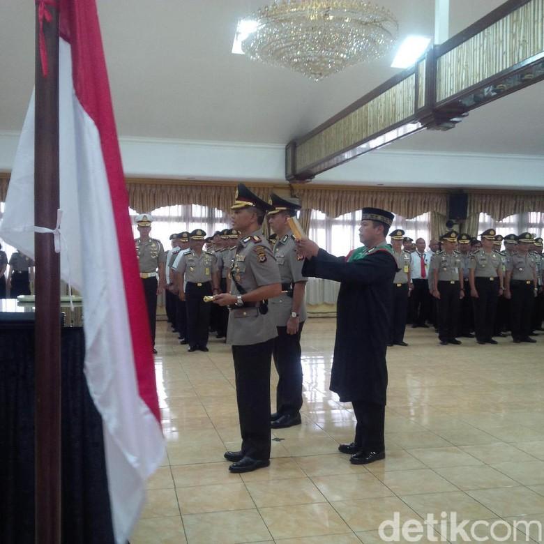 Kombes Pol Hendro Pandowo Resmi Menjabat Kapolrestabes Bandung