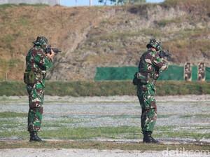 Untuk Kedua Belas Kalinya, TNI AD Sabet Juara Umum Lomba Tembak AARM