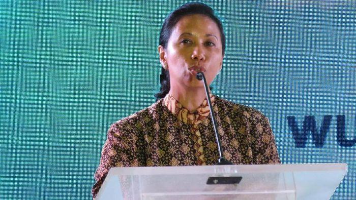 Menteri BUMN Rini Soemarno/Foto: Maikel Jefriando