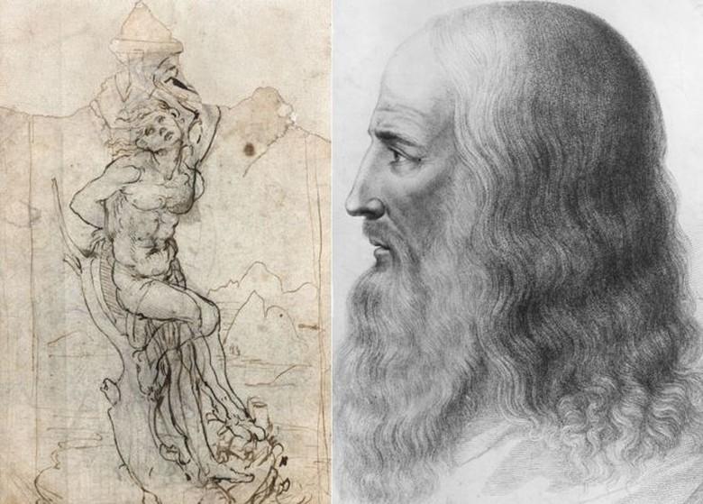 Ratusan Sketsa Leonardo da Vinci Dipamerkan Keliling di Inggris