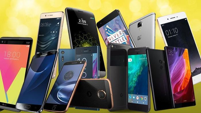 infografis 19 jagoan smartphone