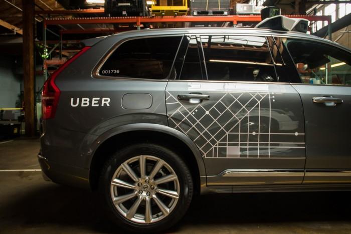 Mobil Uber. Foto: Internet
