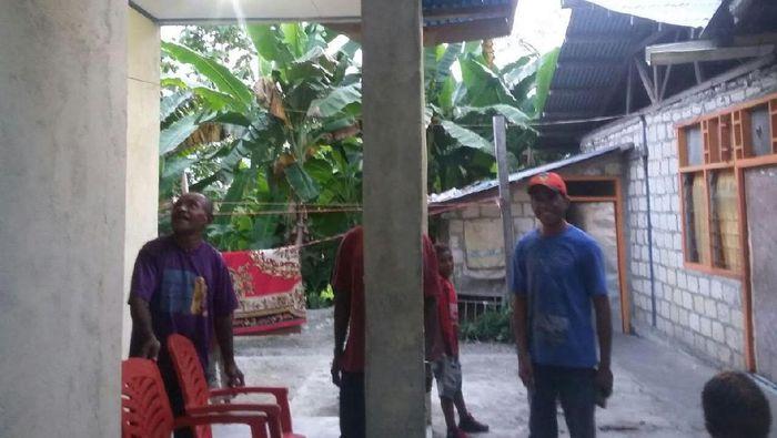 Salah satu desa di Papua yang sudah dapat listrik (Foto: Fadhly Fauzi Rachman/detikFinance)