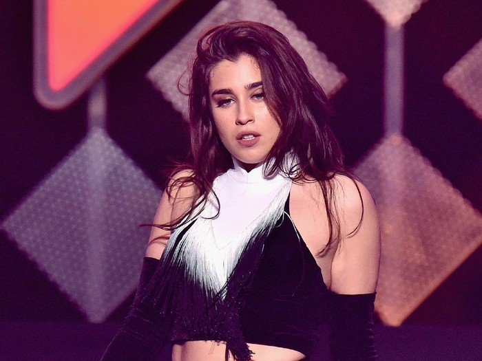 NEW YORK, NY - DECEMBER 09:  Recording artist Lauren Jauregui of Fifth Harmony performs onstage during Z100s Jingle Ball 2016 at Madison Square Garden on December 9, 2016 in New York, New York.  (Photo by Mike Coppola/Getty Images for iHeart)