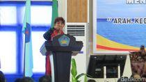 Beri Kuliah Umum di Ambon, Susi Jelaskan Tentang Poros Maritim Dunia