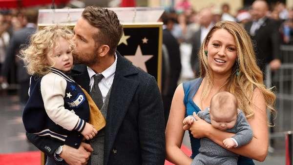 Family Power! Bahagianya Keluarga Ryan Reynolds