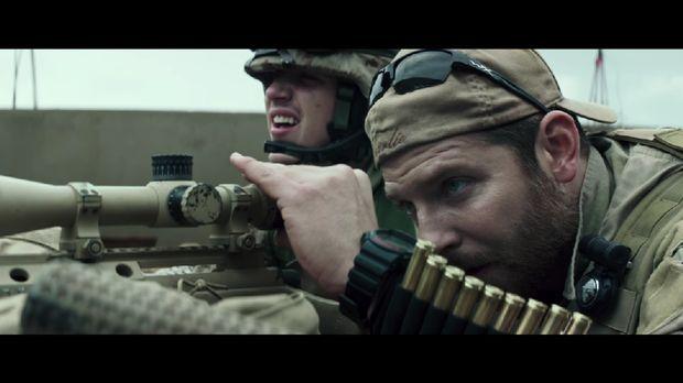 Salah satu adegan dlm film American Sniper