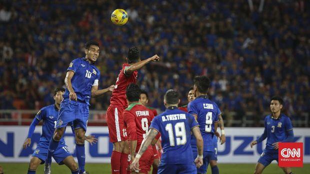 Timnas Indonesia dikalahkan Thailand pada final Piala AFF 2016.