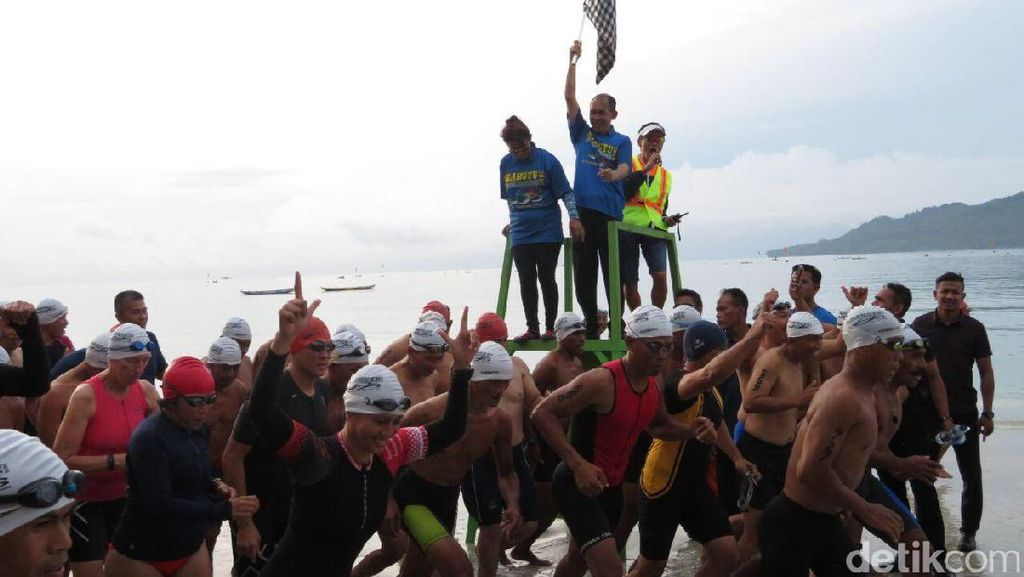 Aquathlon Salahutu, Ajang Sport Tourism Keren dari Maluku
