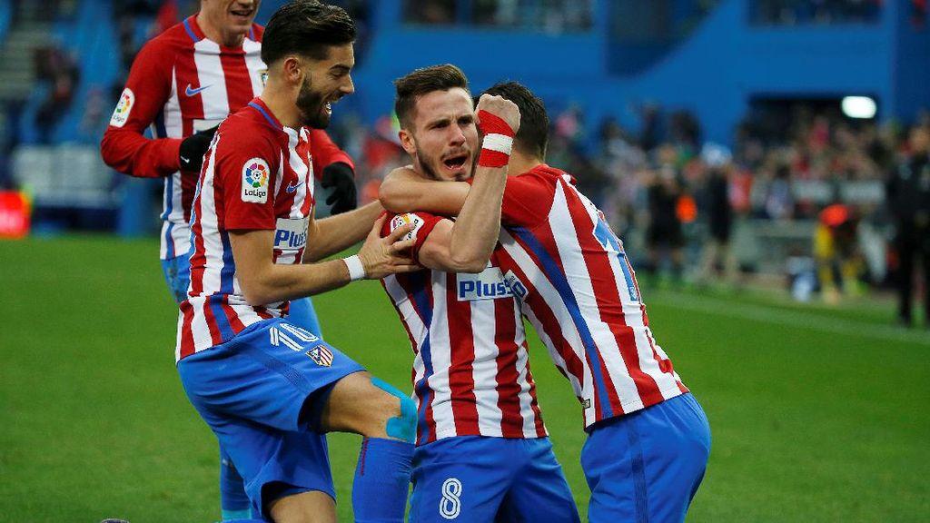 Gol Tunggal Saul Menangkan Atletico