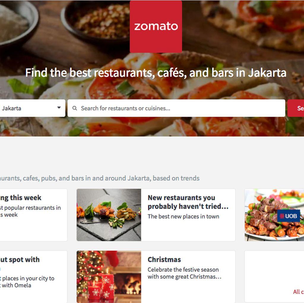 6 Fakta tentang Zomato, Aplikasi Pencari Restoran