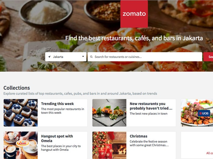 Zomato. Foto: Internet