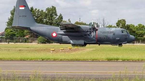 TNI AU: Hercules yang Jatuh di Wamena Sudah Dipakai di Australia Sejak 80-an