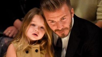 Momen Kebersamaan David Beckham dan Harper Ini Manis Banget Deh