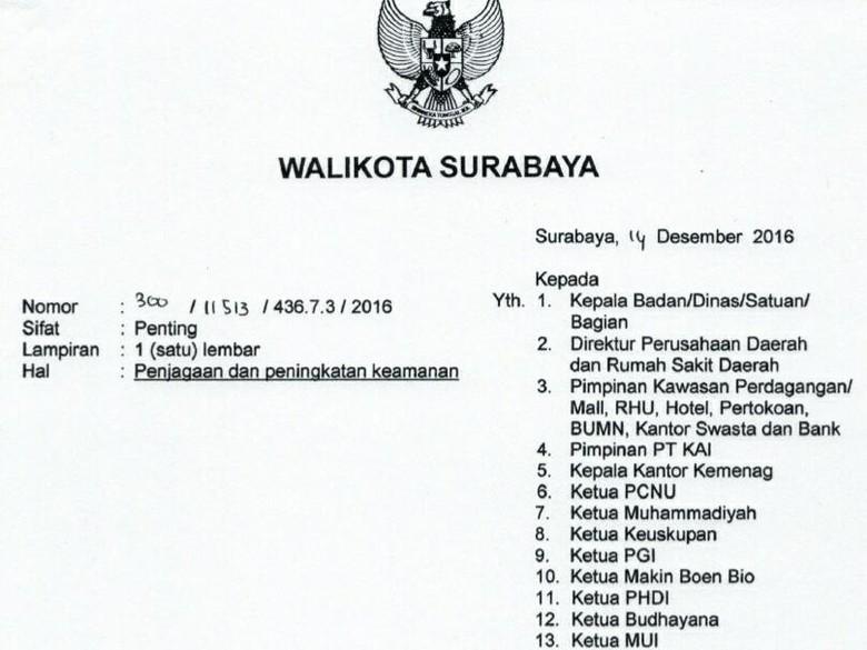 Risma Keluarkan 12 Imbauan Soal Perayaan Natal Dan Tahun