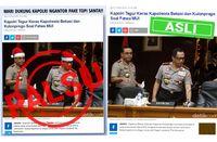 Polisi Cari Pegiat Medsos yang Edit Foto Kapolri dan Wakapolri