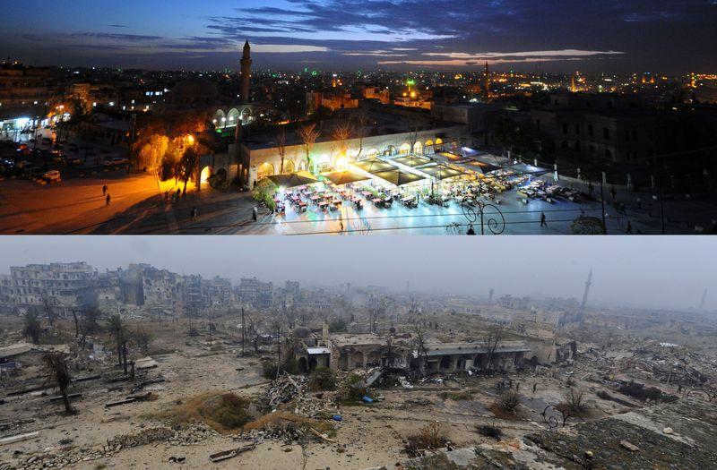 Nama Suriah masih masuk dalam daftar salah satu negara yang dianggap berbahaya untuk tahun 2018. Walau kelompok ISIS sudah terpukul mundur di beberapa titik, traveling ke Suriah sungguh tidak dianjurkan (REUTERS/Omar Sanadiki)