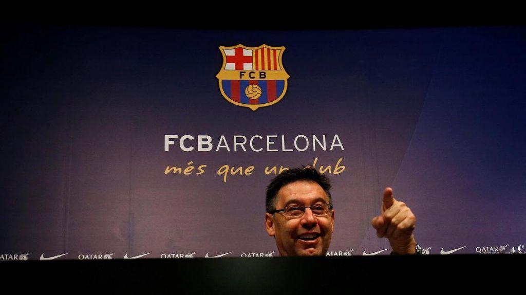 Bartomeu Mau Maju Jadi Presiden Barcelona Lagi!
