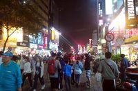 Fengjia Night Market di Kota Taichung (Wahyu/detikTravel)